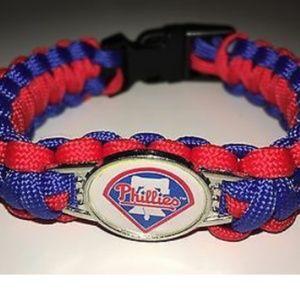 Philadelphia Phillies Para Cord Bracelet NEW